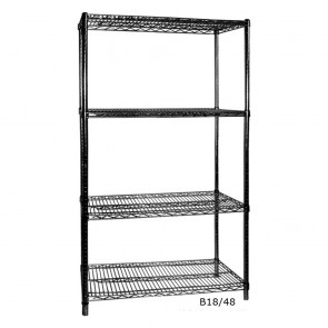F.E.D B18/54 Four Tier Shelving - 457 mm deep x 1880 high