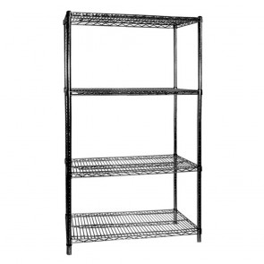 F.E.D B24/30 Four Tier Shelving - 610 mm deep x 1880 high