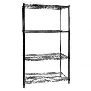 F.E.D B24/72 Four Tier Shelving - 610 mm deep x 1880 high