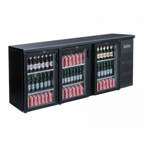 F.E.D BC3100G three door Drink Cooler