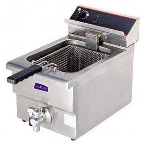 F.E.D BEF-171V 15 Amp Single Benchtop Electric Fryer