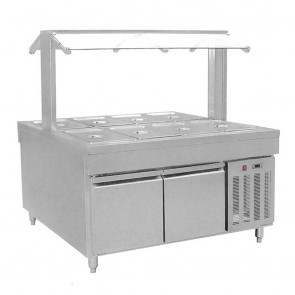 F.E.D BS8C Refrigerated Buffet Bain Marie Centre Servery