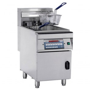 F.E.D DZL-28 - COMPUTERISED ELECTRIC FRYER with COLD ZONE