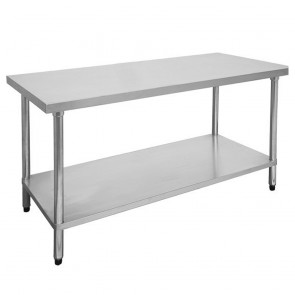 FED Economic 304 Grade Stainless Steel Table 2400x700x900 2400-7-WB