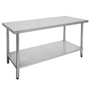 FED Economic 304 Grade Stainless Steel Table 900x700x900 0900-7-WB