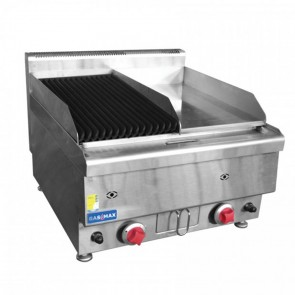 F.E.D GASMAX Benchtop Combo Grill & Griddle JUS-TRH60