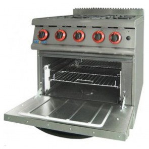 F.E.D Gasmax LPG Gas Four Burner Cook Top On Oven With Flame Failure JZH-RP-4LPG