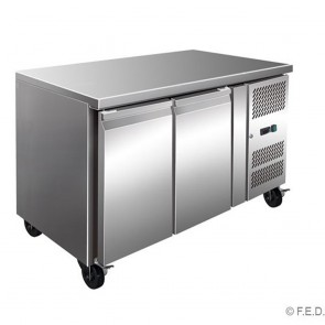 F.E.D GN2100BT TROPICALISED 2 Door Gastronorm Bench Freezer