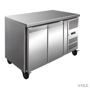 F.E.D GN2100TN TROPICALISED 2 Door Gastronorm Bench Fridge