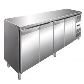 F.E.D GN4100TN TROPICALISED 4 Door Gastronorm Bench Fridge