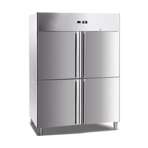 FED Grand Ultra Four Door Stainless Steel Upright Freezer