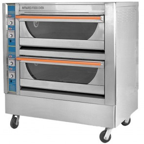 F.E.D GU-4 Infrared High Performance Double Deck Oven