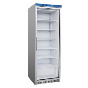 F.E.D HR400G S/S Display Fridge with Glass Door