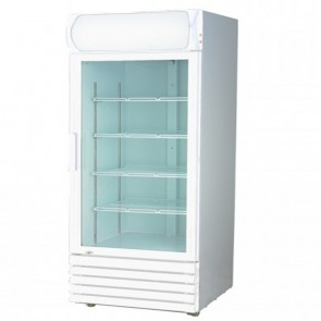 F.E.D LG-370GE Single Glass Door Colourbond Upright Drink Fridge