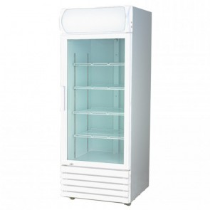 F.E.D LG-540GE Large Single Glass Door Colourbond Upright Drink Fridge