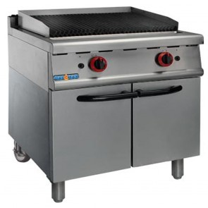F.E.D Natural Gas Char Grill On Cabinet - JZH-RH