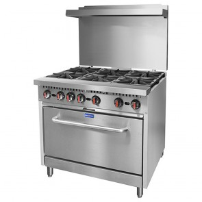 F.E.D S36 - Gasmax 6 Burner with Oven