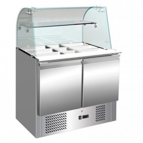 F.E.D S900GC Compact Food Service Bar Two Door