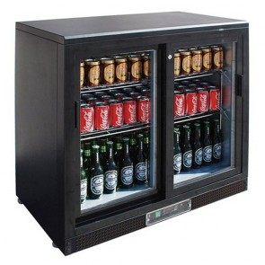 F.E.D SC248SD double sliding door Drink Cooler