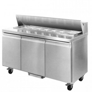 F.E.D SLB150 three door Sandwich Bar