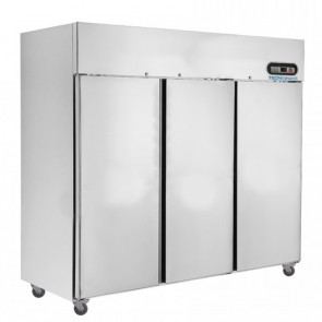 F.E.D. SUC1500 TROPICAL Thermaster 3 Door SS Fridge 1500L