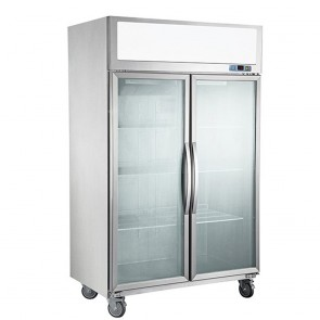 F.E.D SUFG1000 Double Door Display Freezer