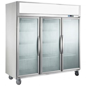 F.E.D SUFG1500 Three Door Upright Display Freezer