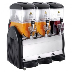 Slushie Machine Triple 12 Litre Granita Slush Machine FABIGANI-3S