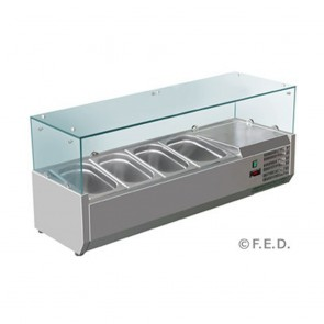 F.E.D VRX1200/380 DELUXE PREP TOP