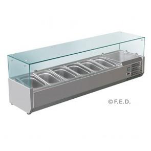 F.E.D VRX1500/380 DELUXE PREP TOP