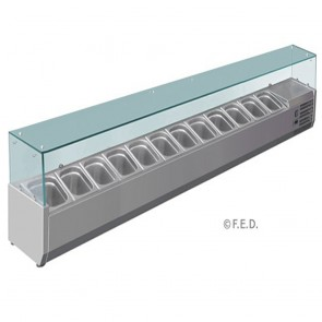 F.E.D VRX2500/380 DELUXE PREP TOP