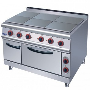 F.E.D ZH-TT-6C ELECTMAX - 6 hotplates with oven