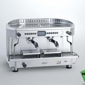 FED Bezzera Modern 2 Group Ellisse Espresso Coffee Machine - BZE2011S2EPID
