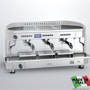 FED Bezzera Modern 3 Group Ellisse Espresso Coffee Machine BZE2011S3EPID