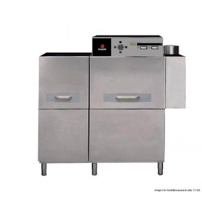 FED Concept Electric Rack, Compact Conveyor Dishwasher - Left to Right Dishwasher - FI-370 I