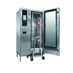 FED Fagor Advanced Plus Gas 20 Trays Touch Screen Control Combi Oven With Cleaning System - APG-201