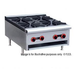 FED Gas Cook Top 4 Burner - RB-4ELPG