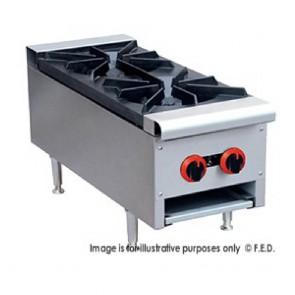 FED Gas Cook Top LPG 2 Burner - RB-2ELPG