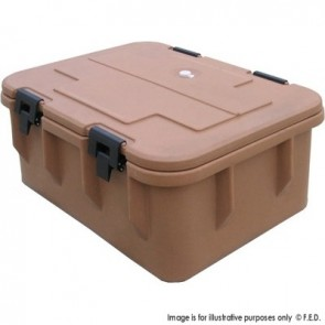 FED Insulated Top Loading Food Carrier CPWK025-10
