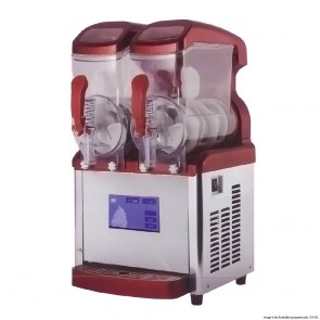 FED Soft Serve Ice Cream Machine Double Bowl - Double x 8 Litre