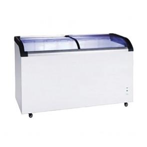 FED Two glass sliding lids chest freezer With castors - ST545
