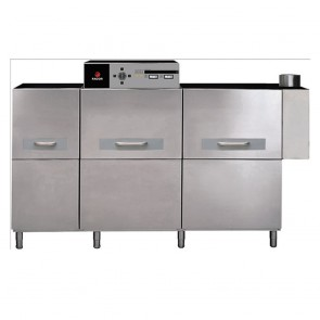 FI-460 D FED Concept Electric Rack, Compact Conveyor Dishwasher - Right to Left Dishwasher - FI-460 D
