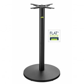 Flat Tech Self Levelling Bar Height Disc Table Base UR22