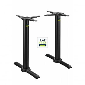 Flat Tech Self Levelling Twin Table Base KT22