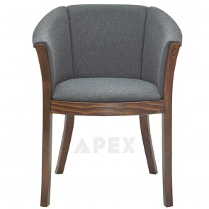 Fully Padded Bentwood Arm Chair B-9744