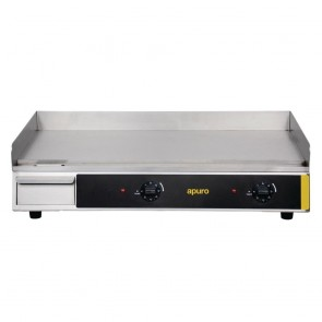 G791-A Apuro Counter Top Electric Griddle - 2900watt 230V AUS PLUG