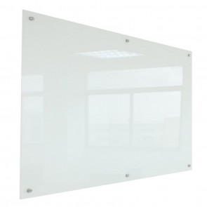 Wall Mounted Glass White Board