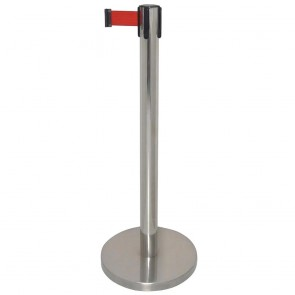 GC605 Bolero S/S Polished Red Strap Barriers