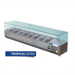 GD877-A Polar G-Series Countertop Prep Fridge 8x 1/3GN