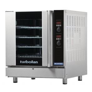 GE763-P Turbofan 4x 660x460 Capacity Digital Gas Convection Oven - LPG / Propane